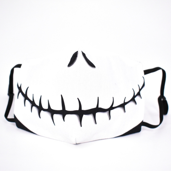 Jack Skellington Mouth Mask